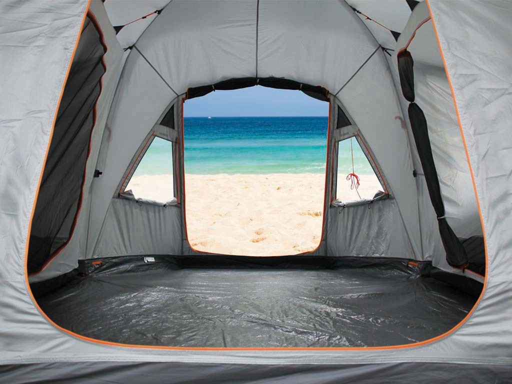 bertoni vis a vis 4 vip tenda a igloo - bertoni tende - milano