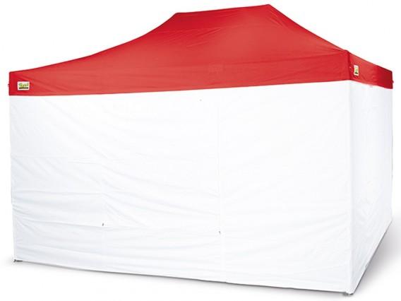 Tetto Rosso per Gazebo Bertoni Piramide 3x4,5
