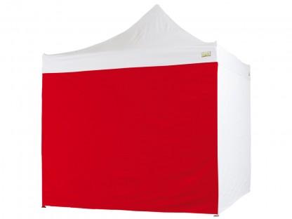 Laterale Rosso per Gazebo Bertoni 2 mt. serie Piramide
