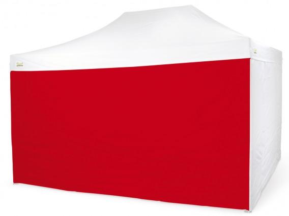 Laterale Rosso per Gazebo Bertoni 4,5 mt. serie Piramide